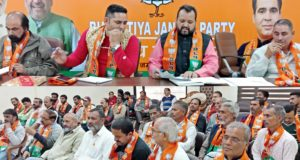 BJP SC Morcha holds meeting