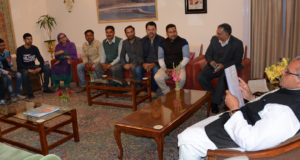 GOVERNOR MEETING DELEGATION OF PHE DAILY WAGERS
