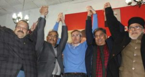 MR OMAR ABDULLAH AT SHER-E-KASHMIR BHAVAN