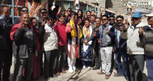 Congress Leader Thukjey Dolma joins BJP